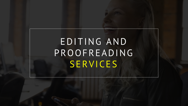 Online proofreading service humanities