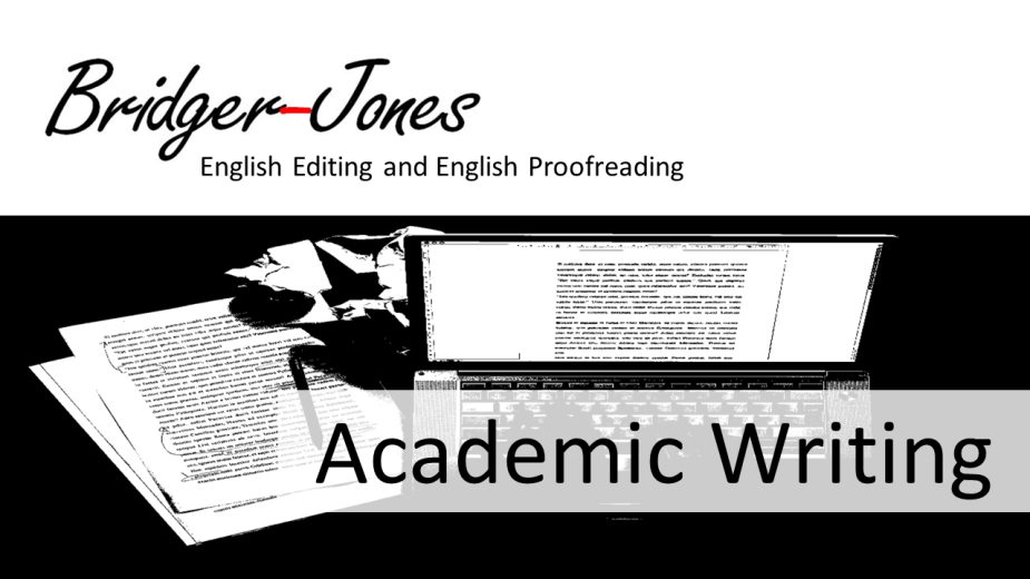 Academic Writing Posts and Guides from bridger-jones.com