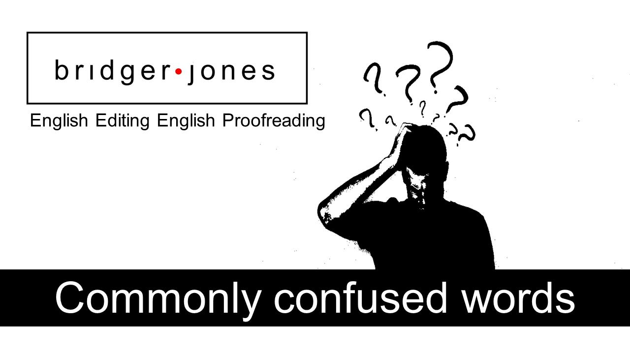 Stationary Vs Stationery | BRIDGER JONES ™ | Academic English ...