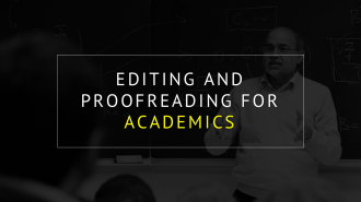 ARTICLE, MANUSCRIPT, CONFERENCE PAPER EDITING AND PROOFREADING