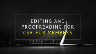 CSA-EUR DISSERTATION, ESSAY, CV, LETTER AND APPLICATION SERVICE