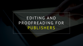 PROOFREADING AND EDITING SERVICES FOR ACADEMIC PUBLISHERS