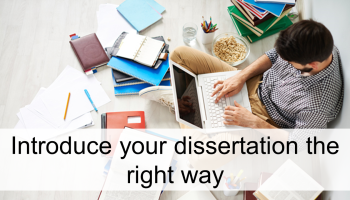 How to write the introduction of your dissertation