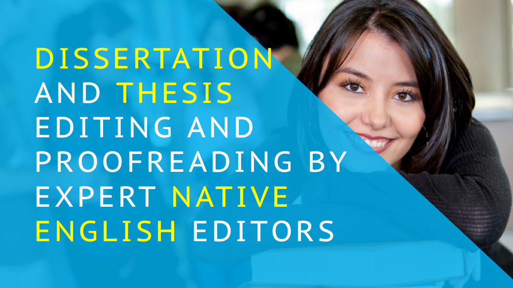 Thesis editing services india
